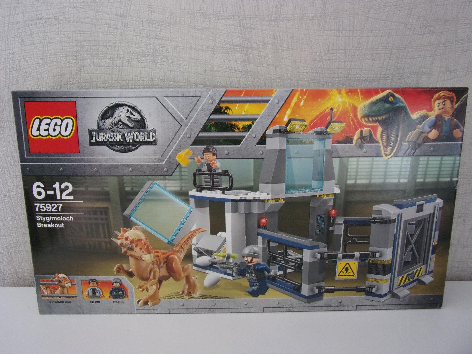 Lego Jurassic World 75927 Stygimoloch Breakout - Nuovo e in Confezione Originale