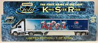 Matchbox Gold Collection King Size Rigs Pepsi In Box 1996