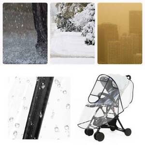 Universal-Baby-Buggy-Rain-Cover-Pushchair-Stroller-Pram-Buggy-Clear-Raincover-UK