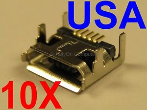 10x Lot of JBL FLIP 2 Micro USB Charging Charger Port For Bluetooth Speaker USA