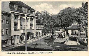 Ansichtskarten Erfinderisch Ak Bad Scharlottenbrunn Conditorei Mit Brunnenhalle Postkarte Sammeln & Seltenes