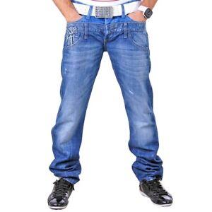 Cipo amp; Blau Hose Herren Baxx By Doppelbund Jeanshose 145 Jeans Redbridge Rb P6AtII