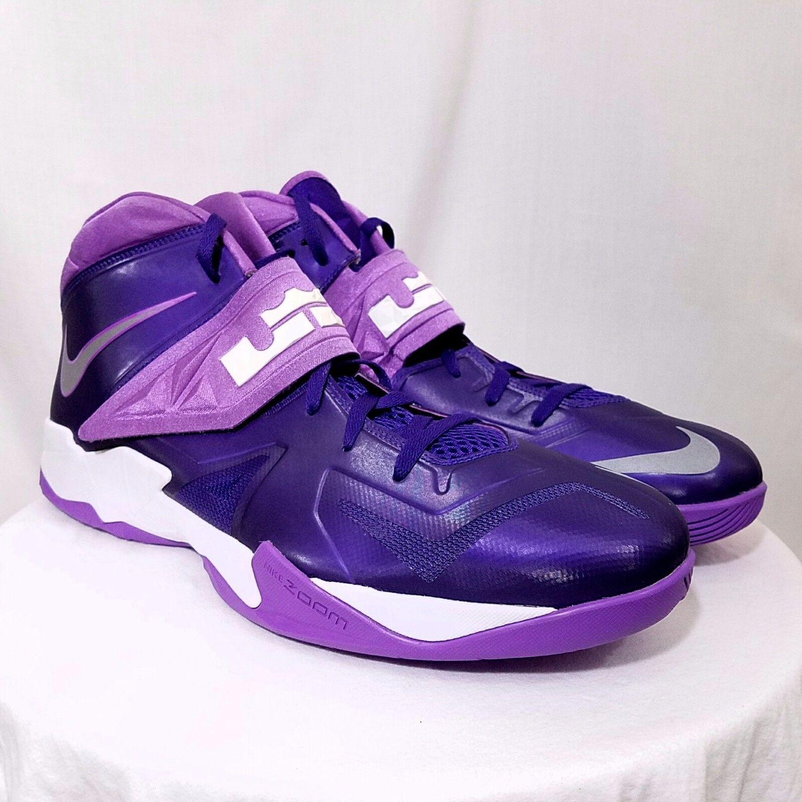 Nike ZOOM SOLDIER de VII TB Zapatos  de SOLDIER baloncesto LeBron James 599263 500 US 16.5 4704be