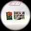2 Miniature THE X-MEN COMIC BOOKS Dollhouse Readable Comic 1:12 Scale Marvel