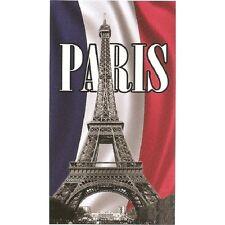 Serviette de plage Drap de bain Paris Tour Eiffel strandtuch beach towel coton