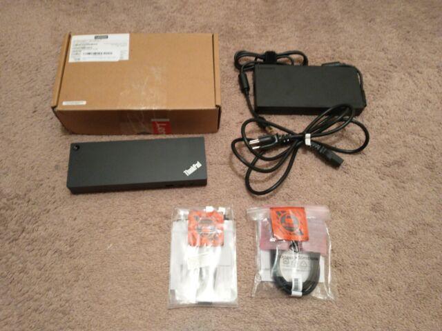 Lenovo Thinkpad Thunderbolt 3 40ANY230US 230W Dock 40AN -- DK1841 -- WARRANTY