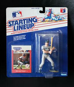 1988 Starting Lineup RC Don Mattingly New York Yankees Baseball MLB SLU