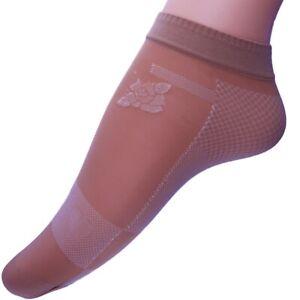 2-pares-Calcetines-mujer-y-nina-Medias-invisibles-tobilleros-estampados-36-41