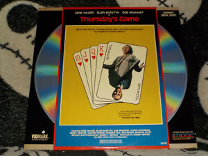 Di-Giovedi-Gioco-Laserdisc-Ld-Gene-Wilder-Ellen-Burstyn-Bob-Newhart