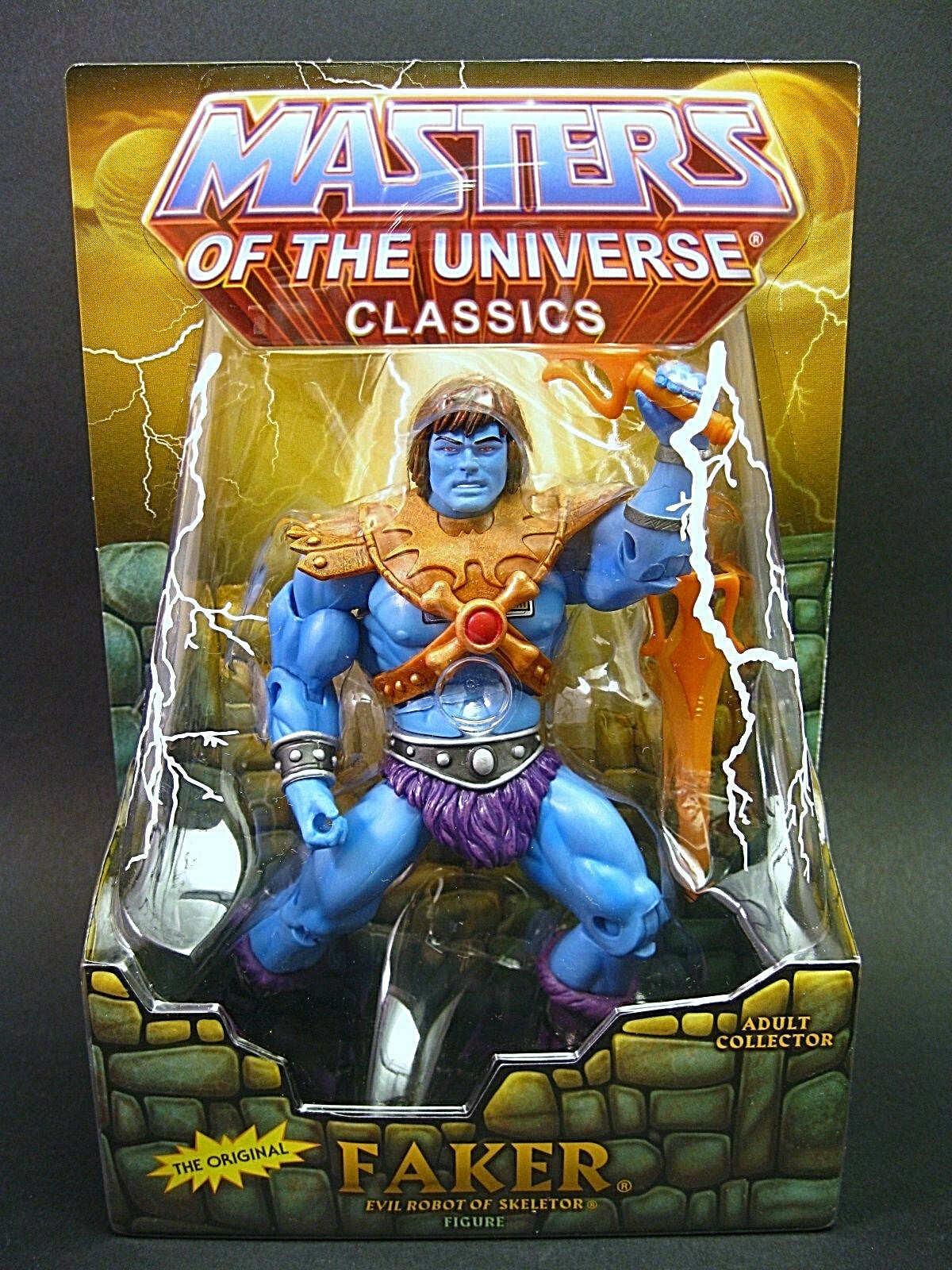 MASTERS OF THE UNIVERSE Classics__FAKER action figure__Exclusive Limited Edition