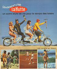 Publicité 1973  LA HUTTE  magasin de sport ...