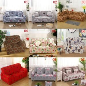Image Is Loading US Home Sofa Flower Print Cover 1 2