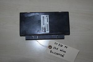 Details About BMW E60 M5 5 SERIES BODY GATEWAY CONTROL MODULE KGM E6X HIGH 16 COMPUTER