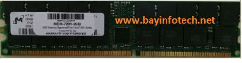 MEM-7201-2GB  2GB Memory Approved Cisco 7201 Router