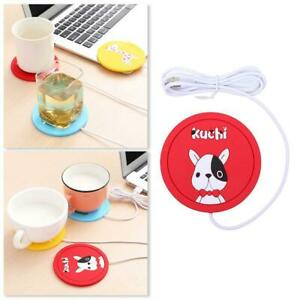 1-USB-Power-Suply-Office-Coffee-Cup-Mug-Warmer-Heating-Pad-Mat-Cup-Coaster-C8S9