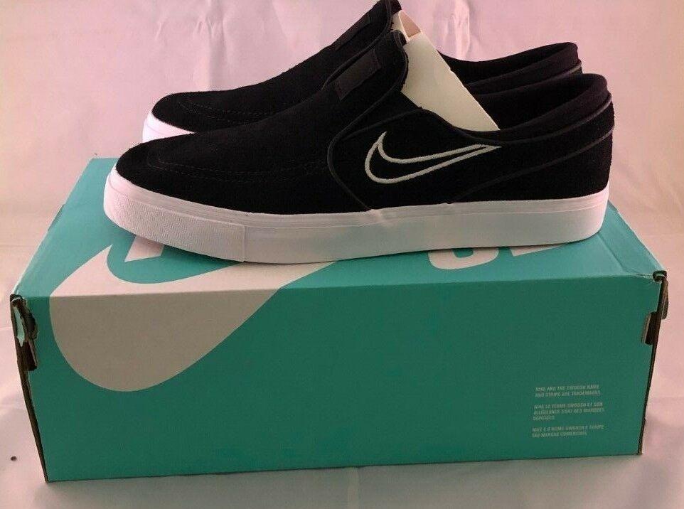 Nike SB Janowski Slip Black White Light Bone skating 833564-004