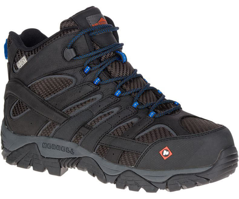 Merrell Men's J15751 Moab 2 Mid Composite Toe Waterproof Safety Work Boots