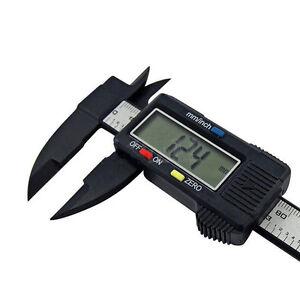 150mm-6inch-LCD-Digital-Electronic-Carbon-Fiber-Vernier-Caliper-Gauge-Micrometer