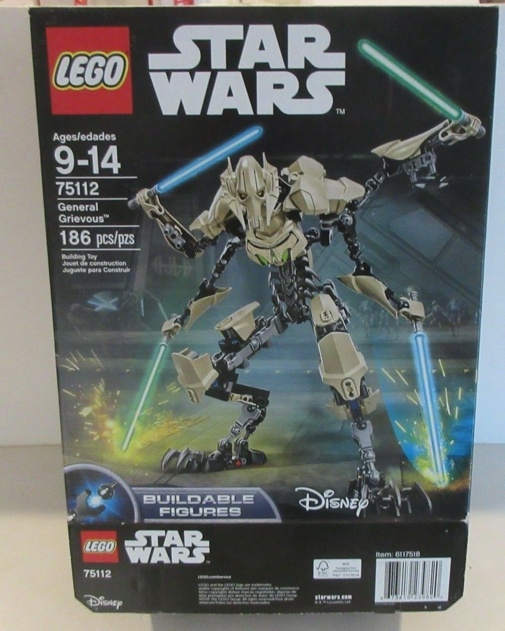 LEGO 75112 STAR WARS General Grievous - Used