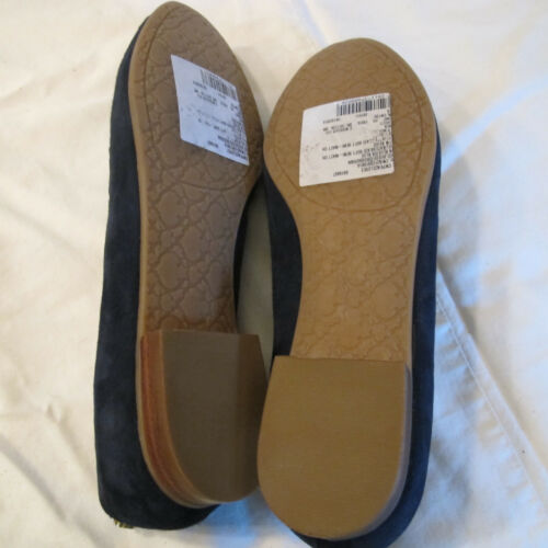 """C Wonder Womens Blue Suede /""""Wonderful/"""" Flats.Size 6.NWT Cute as Can Be!"""
