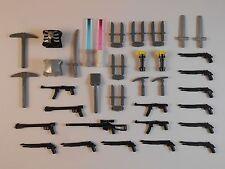 Guns for Lego Minifigures. . Lightsabers Bricks Accessories Toys