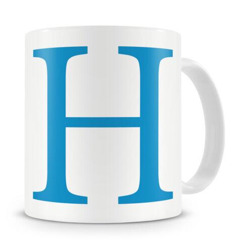 5 couleurs Lettre H Mug-Anniversaire Noël Cadeau de Noël Cadeau Mug lui son