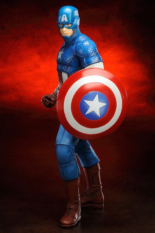 Marvel Comics ARTFX+ PVC Statue 1 10 Captain America Avengers  Marvel Now 19 cm  économiser 60% de réduction