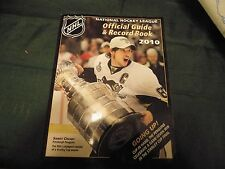 NHL Official Guide & Record Book 2009-2010
