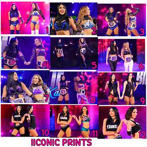THE IICONICS Peyton Royce /& Billie Kay 4x6INCH Glossy Color Photo Prints WWE NXT