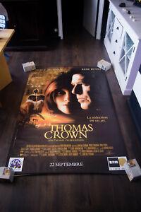 THE THOMAS CROWN AFFAIR 4x6 ft Shelter Vintage Movie Poster Original 1999