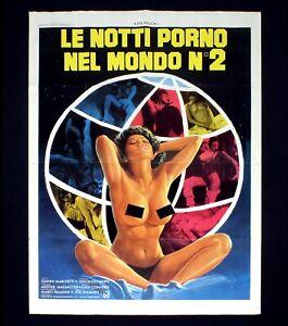 LE NOTTI PORNO NEL MONDO N°2 manifesto poster Ajita Wilson Joe D ...