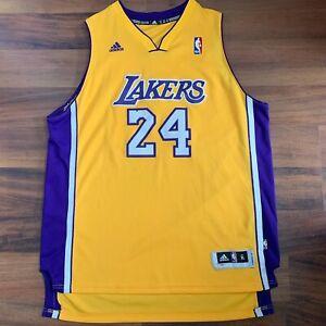 Adidas NBA Kobe Bryant #24 Los Angeles LA Lakers Jersey Size Youth ...