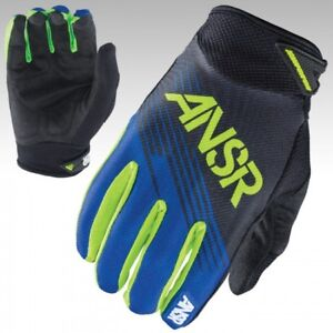 Answer Racing Syncron Gloves Forest Green Youth XL Closeout MX Dirt ATV NEW