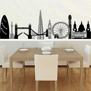 Collage-De-Londres-Adhesivo-Pared-cocina-salon-cuarto-estar-dormitorio