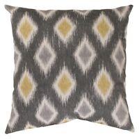 Rodrigo Graphite Throw Pillow Collection