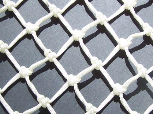 """2/"""" Nylon #84 Netting  10/' x 10/' Horse Hay Net Extra Heavy Duty Briaded 8 M.M"""