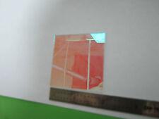 Optical Filter Red Laser Optics Bin8c 25