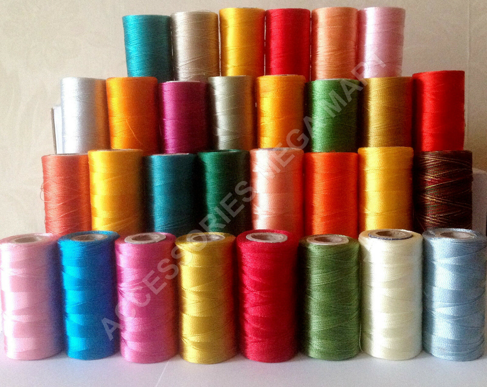 10 Crescent Rayon Viscose Silk Embroidery Machine Thread 2500m each Choose Color