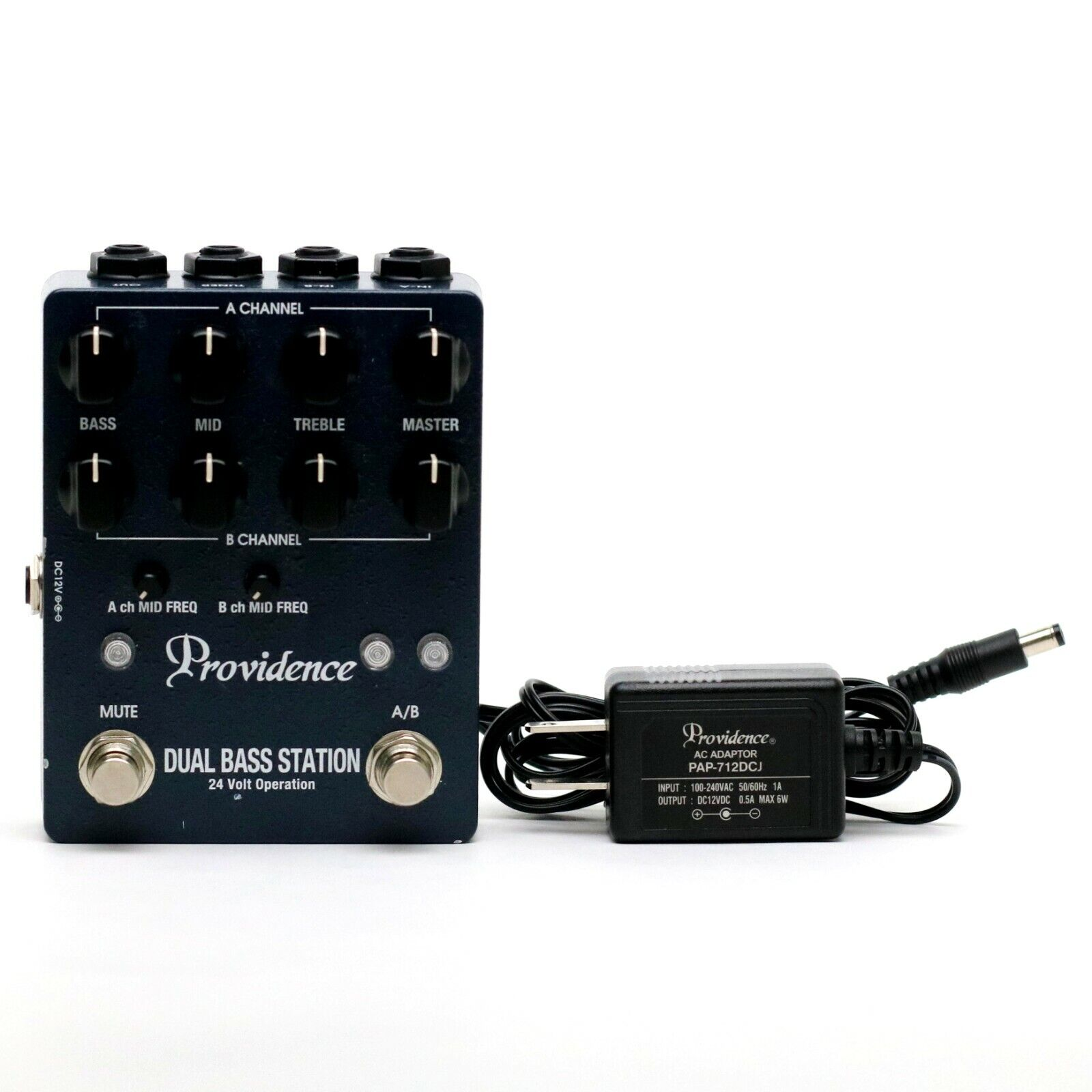 Providence DUAL BASS STATION Bass Guitar Effect Pedal