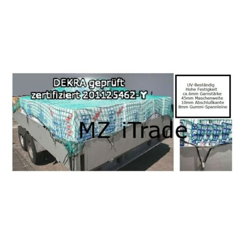 Anhängernetz Containernetz Dekra geprüft 350 x 700 3,5 x 7,0 3,5 x 7 Mw45mm 6mm