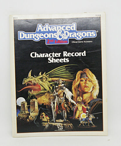 Dungeons and Dragons 1st and 2nd edition accessories