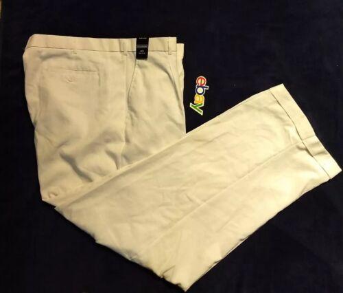 NWT NEW Men CELLANGINO LINEN BLEND WHITE Pants Classic Fit Walking Sz 46x34
