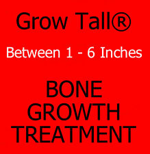 """GROW TALLER Gain Up To 6 Inches In Height, 8 Month Supply """"GROW TALL"""" Capsules.."""