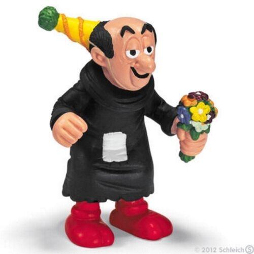Schleich Gargamel in Party Hat vinyl miniature toy animal figure