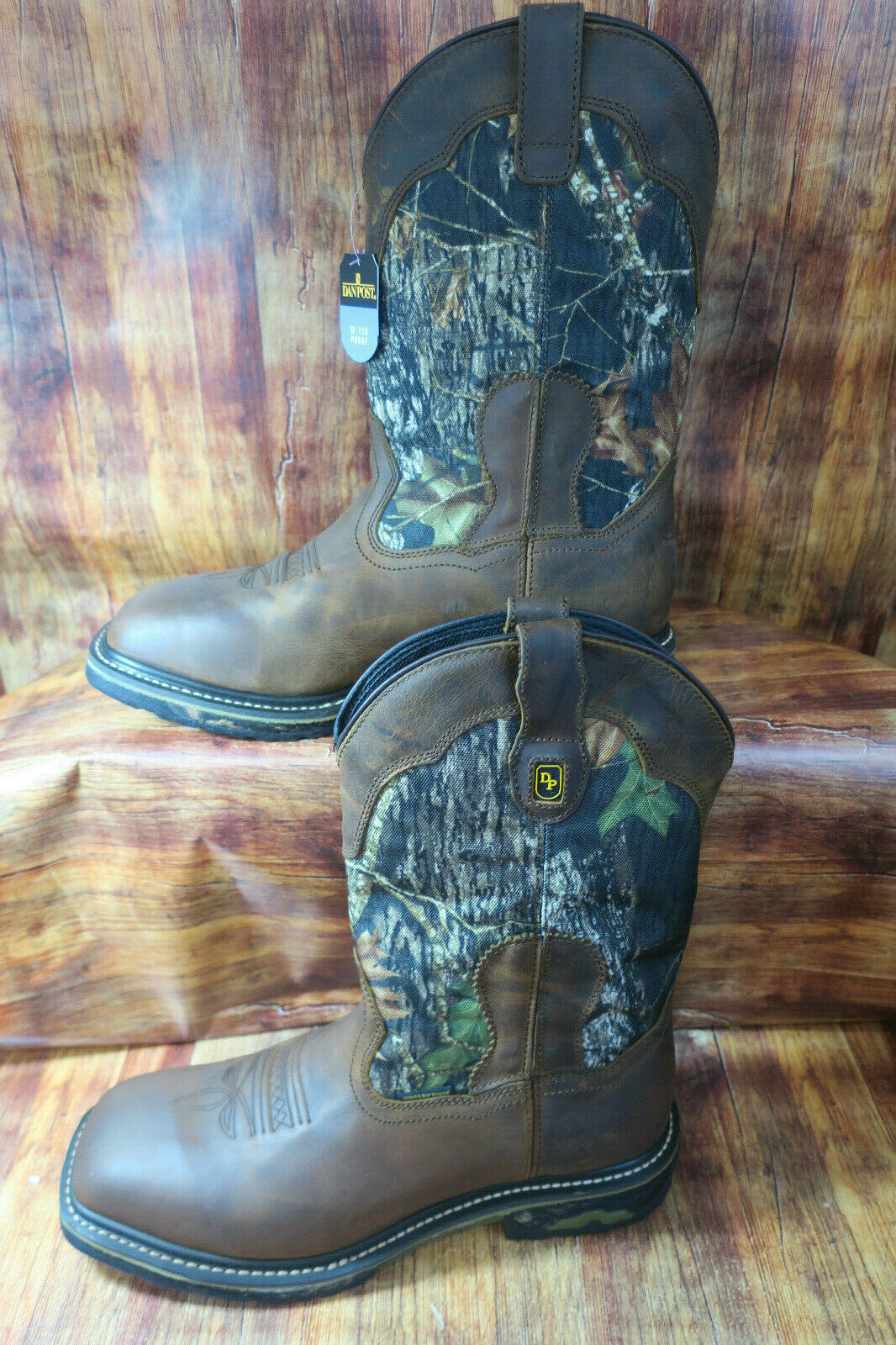 Dan Post Hunter 69408 Waterproof Camo Work Boot  DP69408 NEW Size 8.5