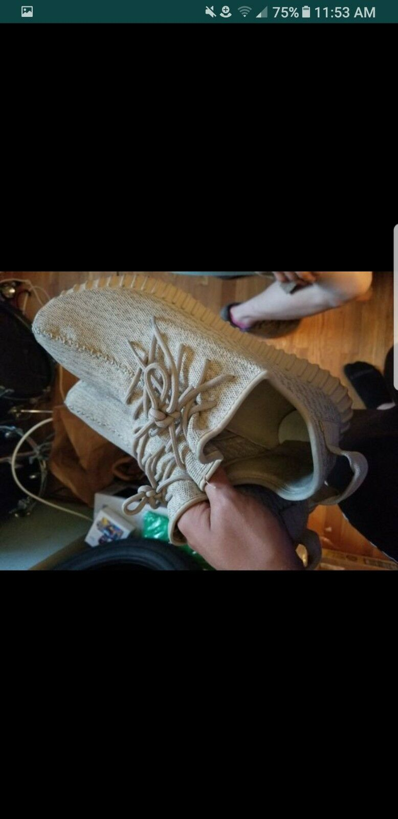 Authentic Yeezy Boost 350 Oxford Tans (V1)
