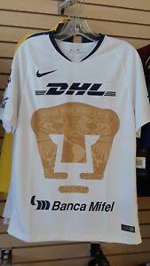 ff9d2d5ac2c BRAND NEW ORIGINAL NIKE Pumas de la UNAM Home Jersey 2018/19   eBay