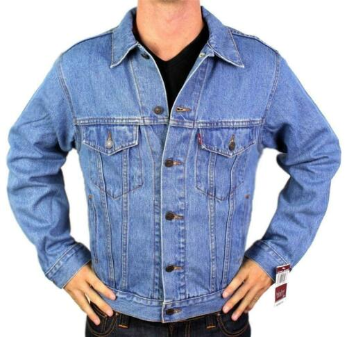 Levi/'s Strauss Men/'s Classic Cotton Button Up Denim Jean Jacket 247660000