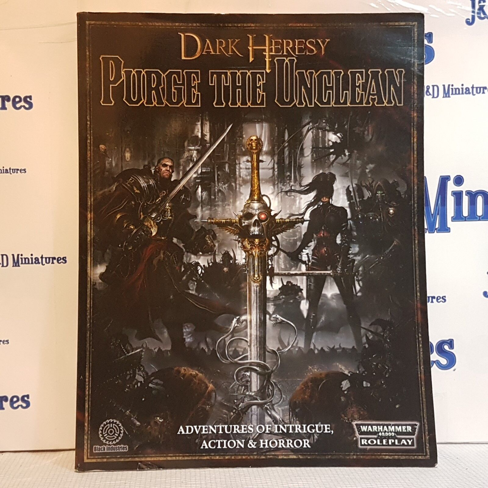 Fantasy Flight Games Warhammer 40,000 Dark Heresy Purge the Unclean