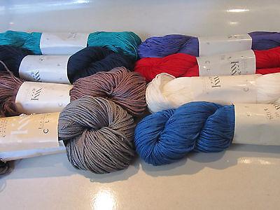 choose from 8 colors 50/% off msrp Klaus Koch Köln CLIP Yarn